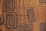 Patrón Gemotrical muebles Sofa en tejido chenilla