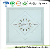Clip de carrés de haute qualité dans les polymères Panneaux de plafond en aluminium