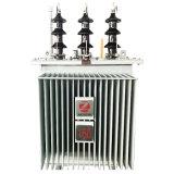 발전소 장비 구리 감기 기름에 의하여 가라앉히는 송전 변압기