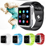 Reloj del deporte de Bluetooth Smartwatch de la tarjeta del OEM SIM para el IOS androide
