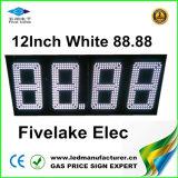 Afficheur LED d'indicateur de prix du gaz de 12inch DEL (NL-TT30F-3R-DM-4D-White)