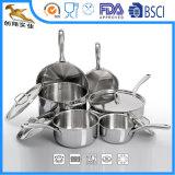 Tri Ply Prime en acier inoxydable Ustensiles de cuisine (CX-SS1008)