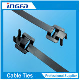 band-Releasable Type van Kabel van Roestvrij staal 304 316 het Epoxy/Nylon Met een laag bedekte