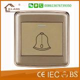 Interruptor grande BRITÁNICO de la PC 1gang Screwless 16A del pulsador