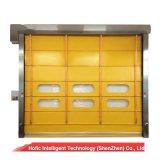 Portello d'impilamento ad alta velocità di rotolamento veloce del PVC