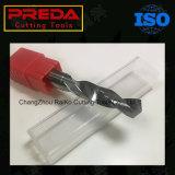 Altin beschichtete Gelegenheitsarbeiter-Torsion-Bohrgeräte CNC-Cabide HRC45/55 beschichtete