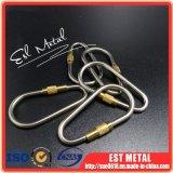 OEM-Титан Стопорный держатель карабина цепочки ключей закрепите крюк для на открытом воздухе