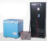 Congélateur solaire de poitrine de C.C de porte simple de Zhuoyue