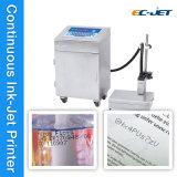 Dattel-Drucken-Maschinen-kontinuierlicher Tintenstrahl-Drucker für trinkende Flasche (EC-JET920)