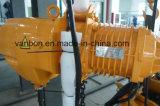 tipo manual grua Chain elétrica do trole 500kg