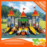 Sistema multifuncional de grande série Castelo desliza para a venda de equipamentos de playground