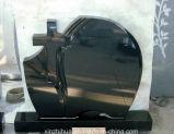 Headstone memorável do granito da estátua dos mausoléus da lápide do cemitério americano dos monumentos da lápide