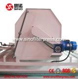 Filtre-presse de courroie d'acier inoxydable pour l'installation de traitement d'eaux d'égout