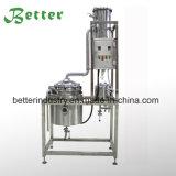 Aceite esencial de la hierba de limón fresco destilador