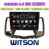 """Grande ecrã de 10,2"""" Witson Android Market 6.0 aluguer de DVD para a Nissan Teana 2009"""