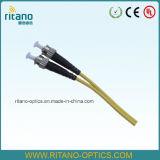 FC/Sc/St/LC/Mu/MTRJ/DIN 연결 접속 코드를 위한 광섬유 광학 연결 케이블