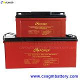 Batterie profonde rechargeable 12V150ah de gel de cycle pour l'énergie solaire (HTL12-150Ah)