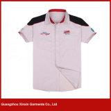 Jupes courtes faites sur commande de travail de chemise pour l'été (W290)
