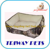Alta Quaulity Soft perro gato mascota WY101086-2cama (A/C)