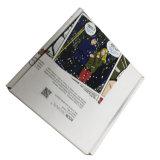 Del almacenaje de la ropa de la manera del papel rectángulo de papel impreso aduana de empaquetado de la chaqueta abajo