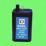 Batteria al manganese (rivestimento in PVC) - 4R25/6V