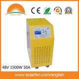 48V1500W 순수한 사인 파동 잡종 태양 변환장치