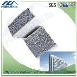 El panel ligero del muro de cemento del agregado EPS del poliestireno de la decoración para la casa del envase