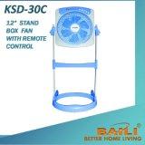""""""" вентилятор коробки стойки 12 с дистанционным управлением и отметчик времени"""