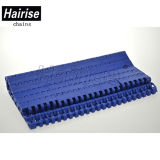 Hairise 1100 het Overbrengen Modulaire Riem van het Type van Openingen de Vlakke voor de Huid van het Karton/van het Document