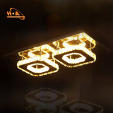 Comercio al por mayor precio de fábrica de cristal plateado lámpara para la iluminación interior