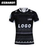 Sublimation-Qualitäts-Polyester-Rugby-Verbindungsstück-Hemden für Männer (R020)