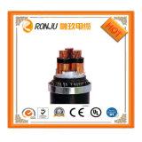 Силовой кабель LV Mv кабеля 3 сердечников бронированный с силовым кабелем Swa медной изоляции проводника PVC/XLPE бронированный