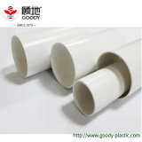 Goody marque upvc blanc à paroi simple tuyau de drainage