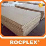 Rocplexのパッキング合板、18mmの型枠の版、黒い木製の梁の型枠