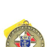 A venda por atacado fundiu o costume que faz a medalha dos esportes do metal das concessões