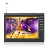 7インチスクリーンの小さく再充電可能なポータブルTV