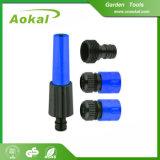 Gicleur rotatoire en plastique réglé de l'eau de puits de gicleur de boyau de jardin pour l'agriculture