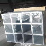 Tubo cuadrado de aluminio 6061-T6