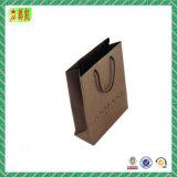 Presente do papel de embalagem/Saco personalizados da promoção com torção/punho liso