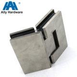 ガラスシャワーのヒンジへのステンレス鋼または黄銅または亜鉛合金ガラス