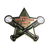 Distintivi su ordinazione di Pin di metallo della stella popolare all'ingrosso dei nuovi prodotti