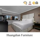 덮개를 씌운 침대 호텔 가구 (HD1042)