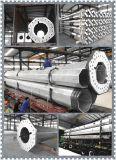 acciaio galvanizzato Trapered di 35m unipolare