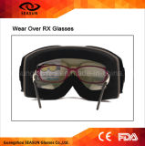 Anteojos antis al por mayor del esquí de Desiner de la lente de la niebla del espejo UV400 del fabricante
