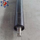 Rodillo de nylon del transportador de la vibración de la prueba inferior del polvo