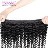 Do Virgin profundo da onda de Yvonne o Weave brasileiro do cabelo de Remy livra o transporte
