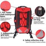 Rode Openlucht Waterdichte Droge Packbag voor Roeien, Visserij Rafting of het Duiken