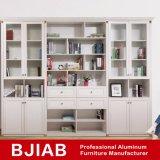 Carvalho branco personalizadas Metal moderno mobiliário Home Office de alumínio Estante
