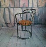 Het herstellen van Oude Manieren, Stoel van de Computer van de Staaf van de Koffie van het Restaurant van de Club van de Armsteun van de Stoel van het Smeedijzer Solid Wood Do de Old Chair (m-X3365)