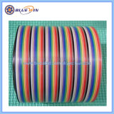 O cabo flat flat cable 12 Pinos 10 Core flat cable 1.27mm
